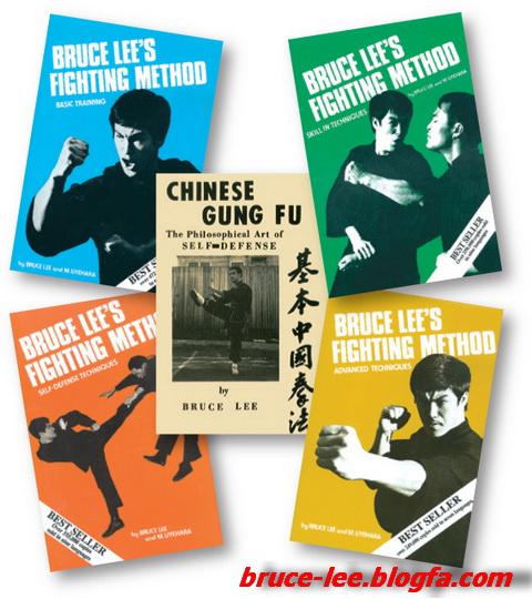 کتابهای استاد بروس لی